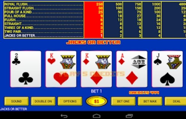 casino games jack or better